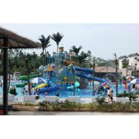 Quality rain fortress water park pool play rides equipment wholesale for sale