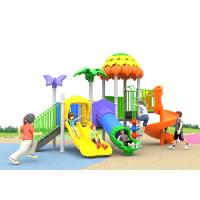 Big Childrens Kids Outdoor Plastic Slide Playground Aluminum Alloy Pole