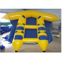 Wholesale Funny Commercial Inflatable Water Sports Fly Fish Banana Boat 3m*2.3 m from china suppliers