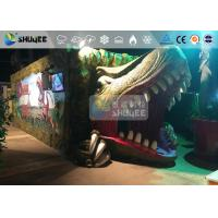 Wholesale Fantastic Mobile 7D Movie Theater Dinosaur Cinema For Theme Park from china suppliers
