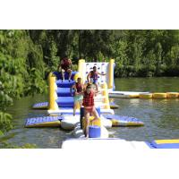 Quality France Outdoor Inflatable Water Park Games For Adults / Inflatable Water Park for sale