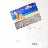 Wholesale PET Seascape Pantone Color 3D Lenticular Printing Postcards For Greeting Light Weight from china suppliers