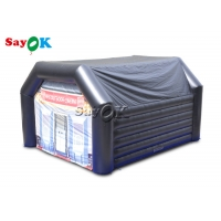 Wholesale Customized Black 0.4mm PVC Inflatable Dome Tent For Events from china suppliers