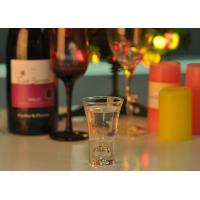 Quality 52ml Mini Glass Cup Sprite Tall Shot Glass Wedding Favors For Liquor for sale
