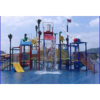 Wholesale Customized Fiber Glass Aqua Park Equipment , Colorful Adventure Playground For Children from china suppliers