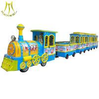 Wholesale Hansel  Battery power indoor kids electric amusement train for shopping mall from china suppliers