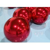 Wholesale Waterproof 0.6m Inflatable Mirror Sphere Ball For Stage Decoration from china suppliers
