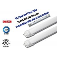 Wholesale Commercial 6000k T8 Led Replacement Bulbs , Shop Led Fluorescent Tube Lights from china suppliers