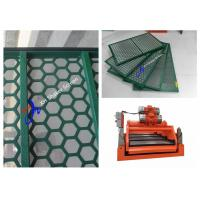 Wholesale Green Brandt King Cobra Shale Shaker Screen Mesh Steel Frame API 20 - 325 from china suppliers