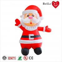 Wholesale 3ML Festival hot sale red inflatable Santa Claus 3d model from china suppliers