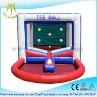 Wholesale Hansel Popular inflatable Tee ball games for kids inflatable kids ball games from china suppliers