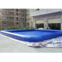 China Outdoor Large  Inflatable Water Pool , 8m x 8m Square Inflatable Pool on sale