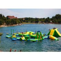Wholesale 0.9mm PVC Tarpaulin Giant Inflatable Water Play Equipment Inflatable Water Park from china suppliers