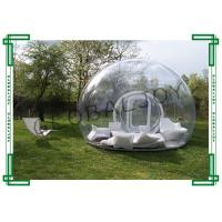 Wholesale Air Inflatable Lawn Tent Clear 5m Diameter with Tunnel for Event from china suppliers