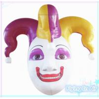 Wholesale 2.1m Inflatable Clown Head for Halloween Decoration from china suppliers