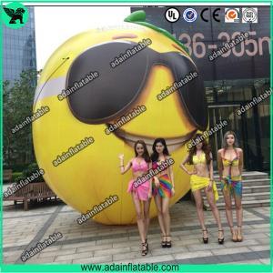 China Fruits Festival Event Inflatable Model Giant Inflatable Lemon Model/Sunglasses Advertising on sale