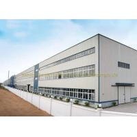 Wholesale ASTM BS Multi Floor Steel Fabricated Buildings For Workshop Warehouse from china suppliers