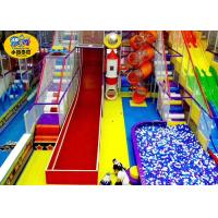Wholesale Indoor Funny Kids Playground Slide Colorful Non - Toxic Eco - Friendly from china suppliers