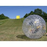 Wholesale 0.7mm / 1.0mm TPU Inflatable Zorb Ball With Soft Back Cushions from china suppliers