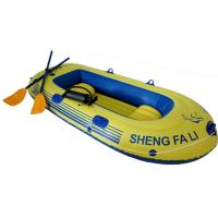 Wholesale Three Person PVC Inflatable Boat With Oars For Beach CE ISO from china suppliers