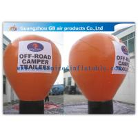 Wholesale 6m Inflatable Large Helium Balloons For Advertising On Floor CE / UL Certificate from china suppliers
