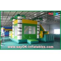 China Adorable Giant Commercial Inflatable Bounce House With Slide on sale