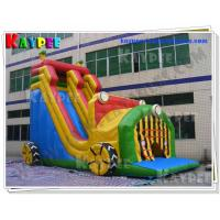 Wholesale Car house Slide Inflatable active slide PVC Tarpaulin slide Inflatable slide Game KSL072 from china suppliers