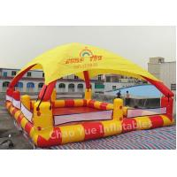 Wholesale Commerical Grade 10m Inflatable Water Swimming Pool Tent for water park from china suppliers