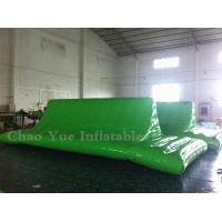 Quality Commercial Grade 0.9mm PVC Tarpaulin Inflatable Water Cliff for water sports for sale