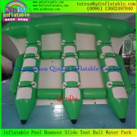 Wholesale Exciting Water Game Inflatable Flyfish Banana Boat Inflatable Flying Fish Towable For Sea from china suppliers