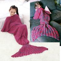 Wholesale Knitted Mermaid Tail , Pattern for Mermaid Tail for Children from china suppliers