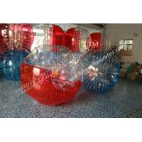 Wholesale Half colour Hamster Ball, Bumper ball,Bubble Soccer ball,human zorbing ball from china suppliers