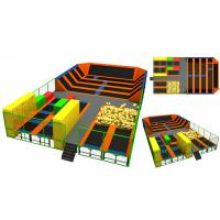 Wholesale 312M2  Chinese Manufacture Trampoline Park/ Big Trampoline Discount Large Children Trampoline from china suppliers