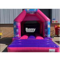 China 16*16*9.5 Ft Kids Bouncy Castle , Small Inflatable Bouncer With 0.55 PVC Tarpulin on sale
