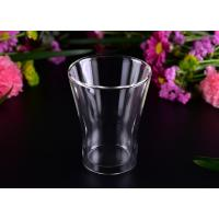 Wholesale Thermal And Cool Drinking Double Wall Glass Tea Cup / Clear Double Wall Tumbler from china suppliers