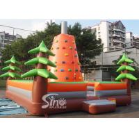 Wholesale Outdoor kids inflatable rock climbing wall for inflatable sports games activities from china suppliers
