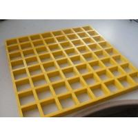 China Lightweight Plastic Walkway Grating , Reinforced Fiberglass Walkway Grating on sale