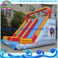 Quality inflatable park inflatable slide toy Water Slide Inflatable Water Toy for Water for sale