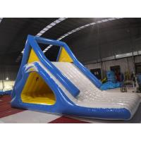 Wholesale PVC Giant Inflatable Slide  Blow Up Slide Into Pool Double Suture Technology from china suppliers