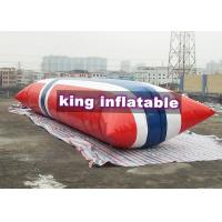 Wholesale Durable Inflatable Water Toys / Blow Up Water Jumping Airbag Water Blob from china suppliers