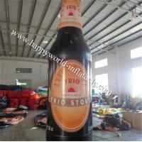 Wholesale Big inflatable Trio Stout bottle replica from china suppliers