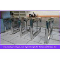 Wholesale Pedestrian Building Entrance Automatic Barrier Gates 550mm - 850mm Channel Width from china suppliers