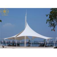 Steel Structure PVDF Material Landscape Canopies Structures For Garden