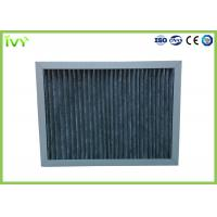 Wholesale High Carbon Content Pleated Air Filters , Chemical Air Filter For Air Conditioner from china suppliers
