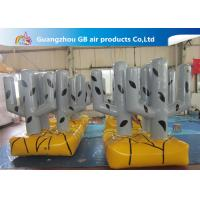 Wholesale Custom Made Strong PVC Tarpaulin Inflatable Bunker Cactus Tree Airtight For Train from china suppliers
