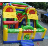 Wholesale KFT012 Inflatable Obstacle funcity ,inflatable playland,crazy playgound with slide from china suppliers