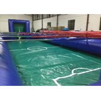 China Huge Colourful Inflatable Football Games adult inflatable table football game for outdoor games on sale