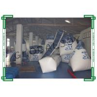 Wholesale 19pcs Printing Inflatable Paintball Bunkers White for 10 People from china suppliers