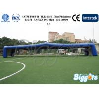 Buy cheap Giant Custom Outdoor Inflatable Yard Tent Football with Enough Air Blowers from wholesalers