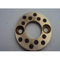 Quality Casting Copper bearing thrust washer With Solid Lubricant Plugs for sale